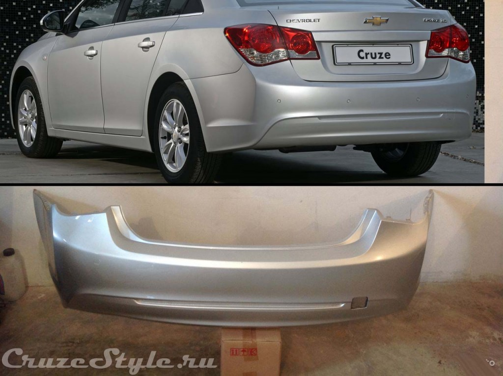 Задний бампер (не окрашенный) Оригинал GM Цена: 6.400 руб. Доставка по России
